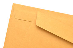 Paper Envelope isolated on white background Royalty Free Stock Images
