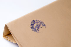 Paper envelope stamped Top Secret Stock Image