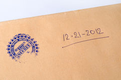 Paper envelope stamped Top Secret Royalty Free Stock Photo
