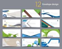 Paper Envelope Templates. Set of Paper envelope templates for your project design vector illustration