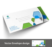 Paper envelope templates Stock Photo