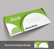 Paper envelope templates Royalty Free Stock Image
