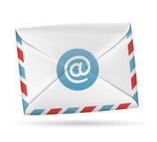 Paper envelope. Vector icon. Paper envelope isolated on white background vector illustration