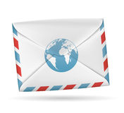 Paper envelope. Stock Photography