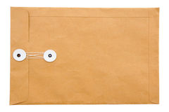 Paper envelope on white background Royalty Free Stock Photo