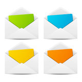 Paper envelopes Royalty Free Stock Photography