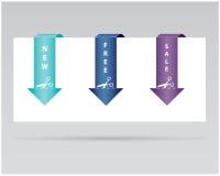 paper etikett stock illustrationer