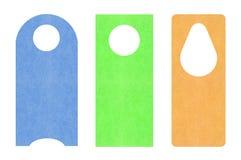 paper etiketter Arkivbild