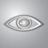 Paper eye Royalty Free Stock Image