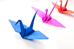 Paper fågeln Royaltyfria Foton