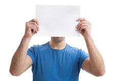Paper Face royalty free stock photography