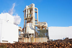 Paper Factory Royalty Free Stock Images