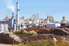 Paper Factory Royalty Free Stock Photos