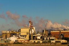 Paper Factory Plant Royalty Free Stock Photography
