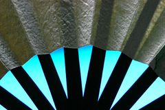 Paper Fan Stock Photo