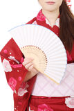 Paper fan Stock Image