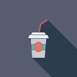 Paper fast food cup Stock Image