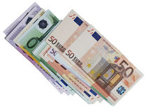 Pack of banknotes,  euro Stock Photography