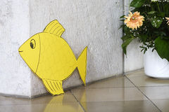 Paper Fish Royalty Free Stock Images