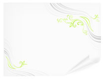 Paper with floral Royalty Free Stock Images