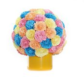 Paper flower ball, quilling Stock Image