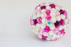 Paper flower ball Royalty Free Stock Photos