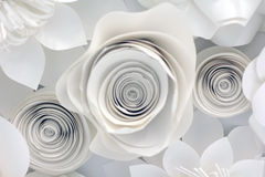 Paper Flower Design Stock Photos
