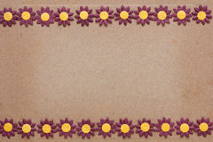 Paper flower pattern Stock Image