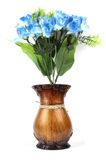 Paper flower pot Stock Photo