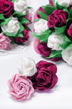 Paper flowers Royalty Free Stock Image