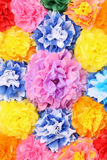 Paper flowers Stock Image