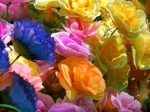 Paper flowers stock photos