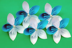 Paper flowers Royalty Free Stock Photo