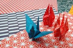 Paper folding Stock Image