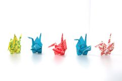 Paper folding Stock Images