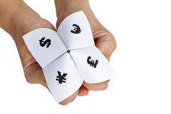 Paper Fortune Teller Royalty Free Stock Photo