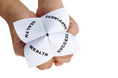 Paper Fortune Teller Royalty Free Stock Photos