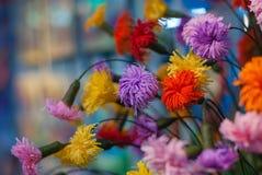 paper foto för härliga blommor mycket Royaltyfri Fotografi
