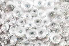 paper foto för härliga blommor mycket Arkivbilder