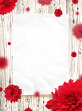 Paper frame Stock Photo