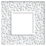 Paper frame Royalty Free Stock Images