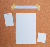Paper frame Stock Photography
