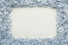 Paper frame Royalty Free Stock Image