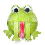 Paper frog Stock Photos