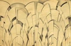 Paper geometric background vector illustration