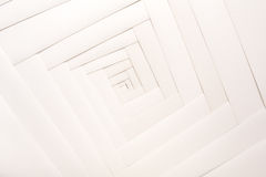 Paper geometric composition, abstract background Stock Photo