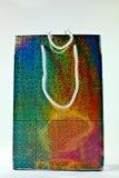 Shiny gift bag Stock Image