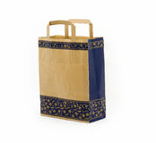 Paper gift bag Royalty Free Stock Images