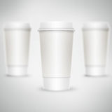 Paper glass Royalty Free Stock Photo