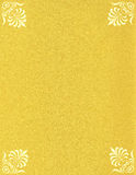The paper of gold color - sparkles Stock Photo